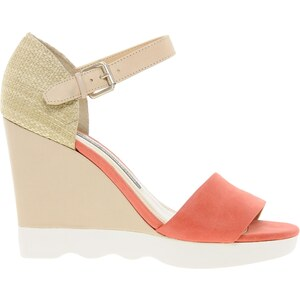 French Connection Jolie Lagoon Heeled Sandal