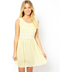 Love Skater Dress With Lace Waist