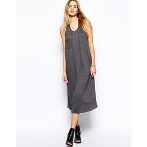 LnA Maxi Vest Dress With Pocket