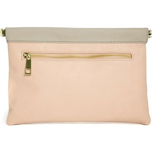 ASOS Clutch Bag with Hinge Frame & Front Zip