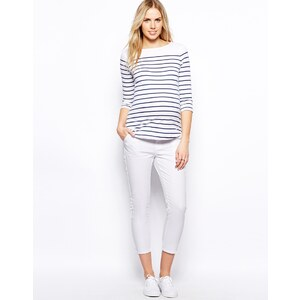 ASOS Maternity 7/8 Twill Trouser