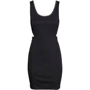 H&M Kleid mit Perlenstickerei