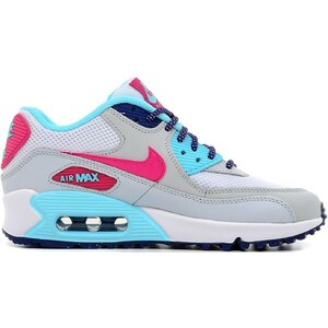 Nike AIR MAX 90 MESH (GS) - Baskets - blanc