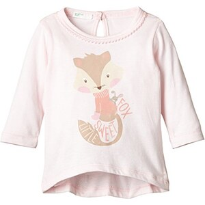 United Colors of Benetton Baby - Mädchen, Langarmshirt, Fox Tee