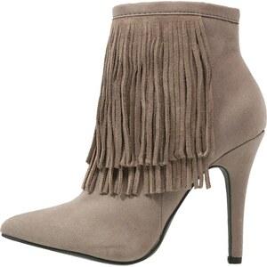 New Look EDGING High Heel Stiefelette grey