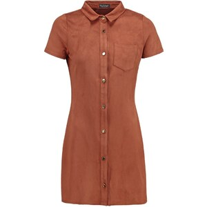 Miss Selfridge Petite Blusenkleid brown