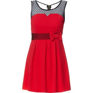 Le dressing d'Alisson Robe babydoll - rouge