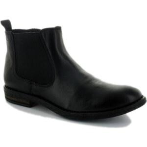 Acebo's Boots Bottine Femme Cuir Noir 8034VE NEGRO