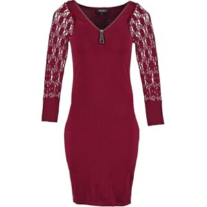 Morgan REVISE Robe pull bordeaux