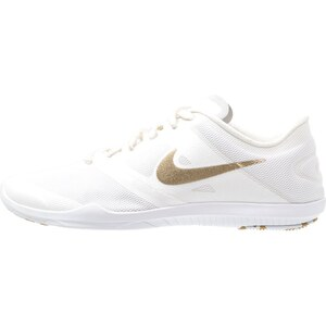 Nike Performance STUDIO TRAINER 2 Trainings / Fitnessschuh white/metallic gold/pure platinum/metallic summit white