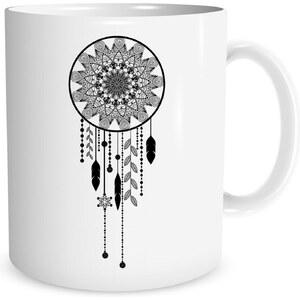 An Famille dreamcatcher - Mug - blanc