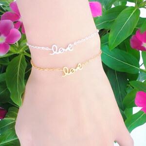 Lesara Armband Love - Gold