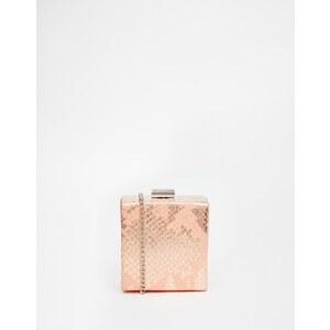 ASOS - HOLIDAYS - Mini sac carré coordonné à bandoulière - Rose
