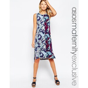 ASOS Maternity - Kleid mit Camouflage-Muster