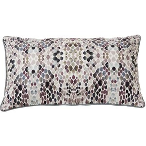Coussin 30x50 cm LILAH BEIGE - Collection Essenza