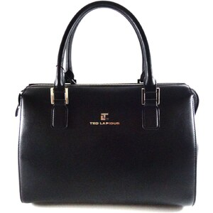Ted Lapidus maroquinerie Lutece - Sac bowling - noir