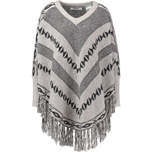 ONLY ONLETHNO Strickpullover pumice stone