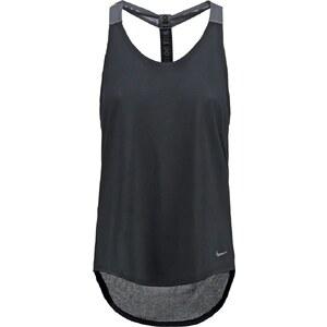 Nike Performance ELASTIKA SOLID Top black/dark grey