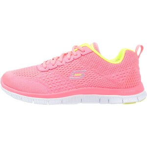 Skechers Sport FLEX APPEAL OBVIOUS CHOICE Sneaker low pink/yellow