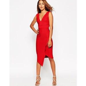 ASOS - Figurbetontes, asymmetrisches Bandagen-Kleid - Minzgrün 22,99 €