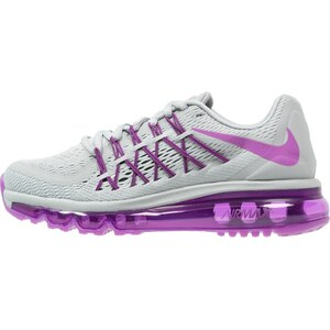 Nike Performance AIR MAX 2015 Laufschuh Neutral wolf grey/vivid purple/black