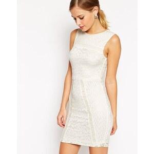 ASOS - Figurbetontes kurzes Kleid mit Spitze - Schwarz 26,99 €