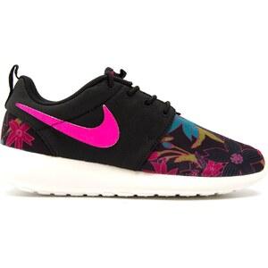 Nike Roshe one print - Sneakers en toile - noir