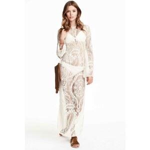 H&M Robe longue en dentelle