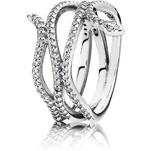 Pandora Damen-Ring Ringelnde Schlange 190954CZ-54, 54/17,2