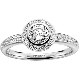 Viventy Damen-Ring 764221/56, 56/17,8