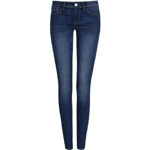 Tally Weijl Jean Skinny Taille Basse Bleu Foncé