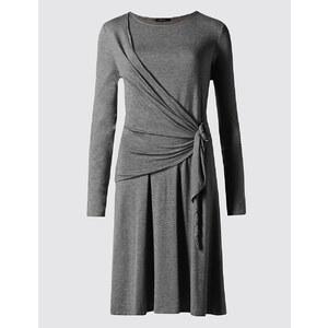 Marks and Spencer Robe tube chinée style portefeuille