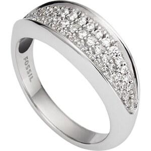 Fossil Silber Damenring JFS00366040505, 53/16,9