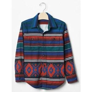 Gap Mix Print Shirt - Navajo red