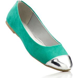BODYFLIRT Ballerines vert chaussures & accessoires - bonprix