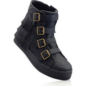 RAINBOW Baskets noir chaussures & accessoires - bonprix