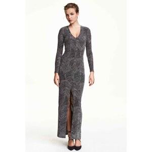 H&M Robe longue scintillante
