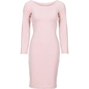 BODYFLIRT Scuba-Kleid in rosa von bonprix