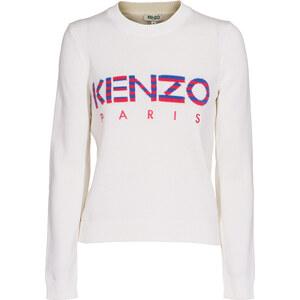 KENZO Logo Cotton White