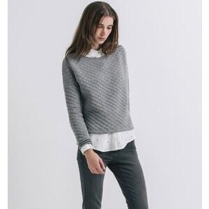 Promod Gestepptes Sweatshirt