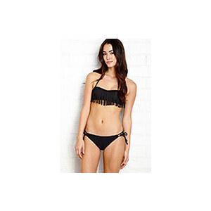 FOREVER21 Bikinihöschen mit Bindeakzenten