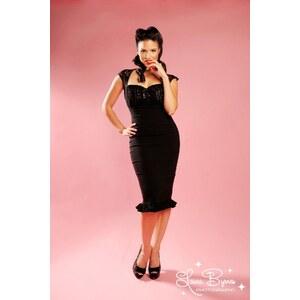 Pinup Couture Micheline Lace Dress black