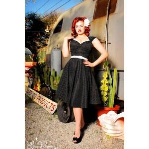 Pinup Couture Heidi dress Black Pin Dot