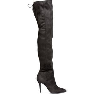 H&M Overknee-Stiefel
