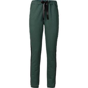 RAINBOW Pantalon sweat vert femme - bonprix