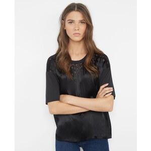Comptoir des Cotonniers T-shirt bi-matière aux étoiles