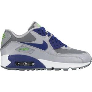 Nike AIR MAX 90 MESH (GS) - Baskets - gris