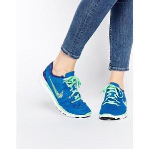 Nike - Free 5.0 TR - Atmungsaktive, grüne Sneakers - Grün/Leuchtend