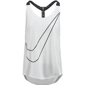 Nike Performance ELASTIKA LOOSE FIT Top white
