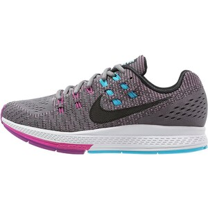 Nike Performance AIR ZOOM STRUCTURE 19 Laufschuh Stabilität cool grey/black/fuchsia flash